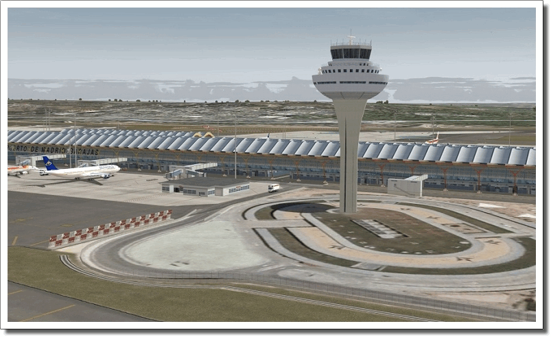 Mega Airport Madrid Barajas download for free - GetWinPCSoft