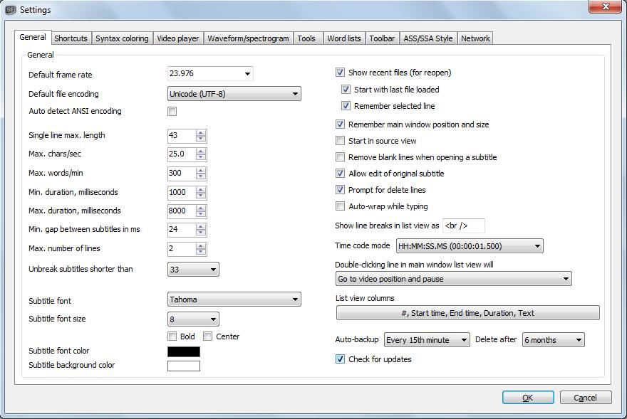 Subtitle Edit latest version - Get best Windows software