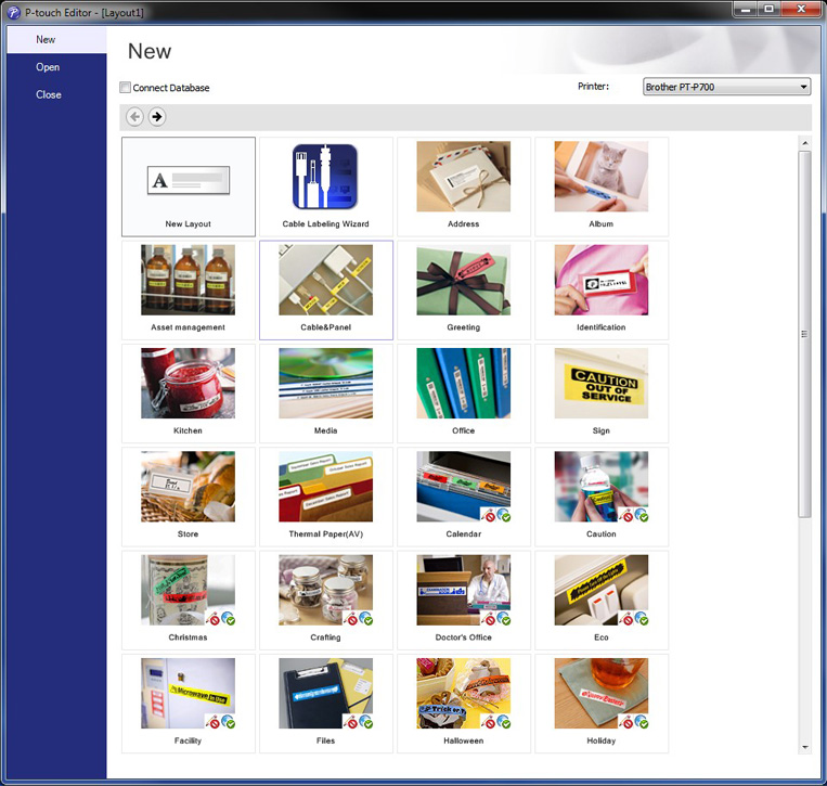 It's just a graphic of Divine Brother P Touch Label Software Download