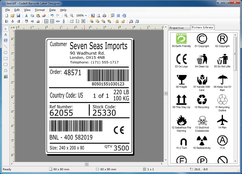 Codex Barcode Label Designer Download For Free Getwinpcsoft