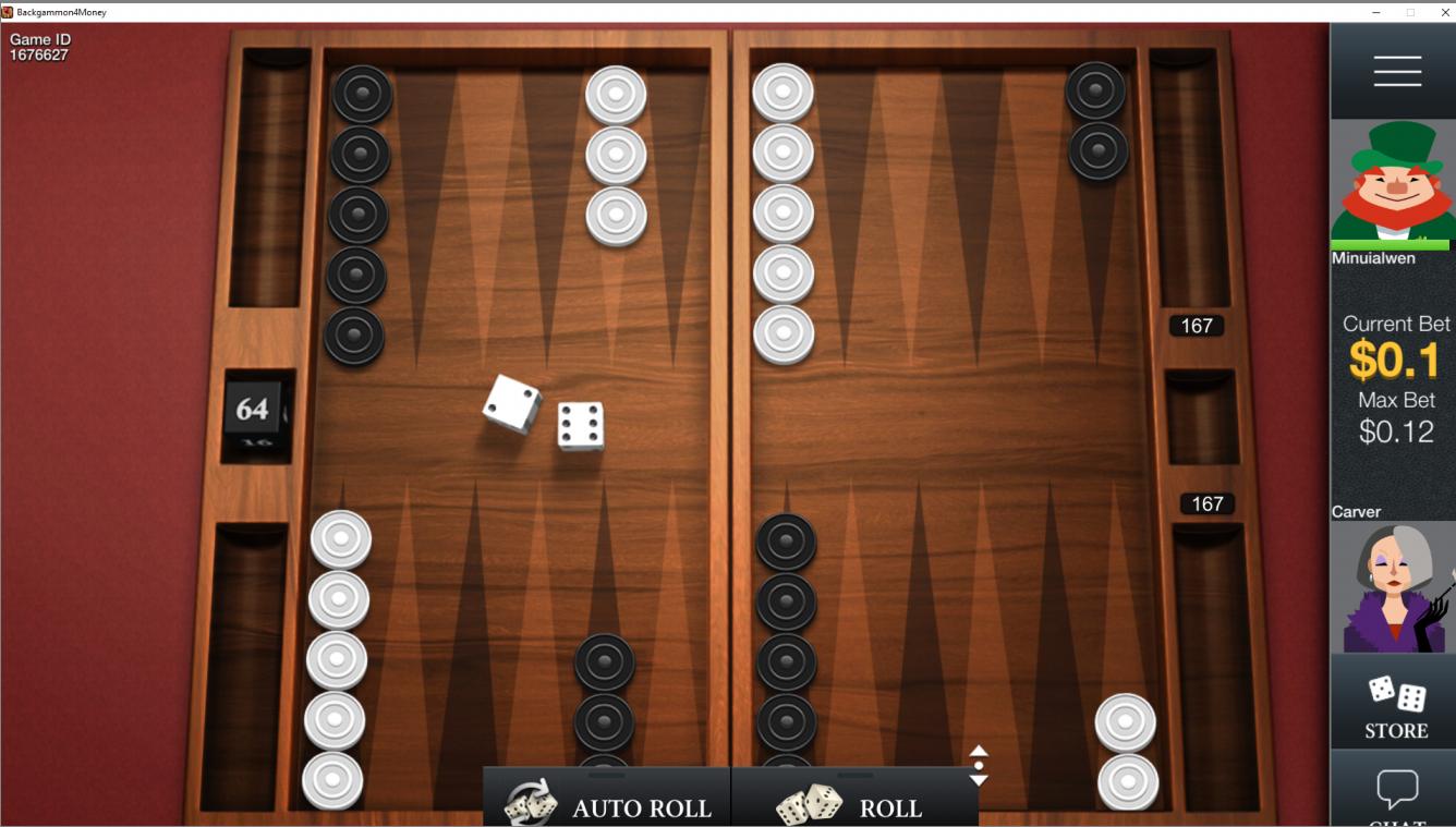 Play Backgammon For Money