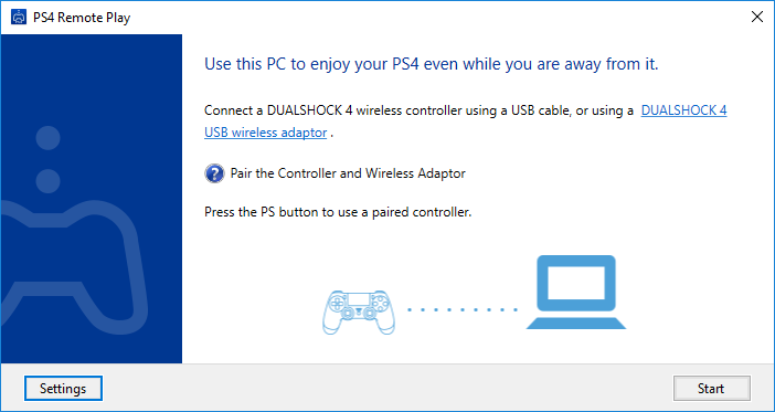 PS4 Remote Play latest version - Get best Windows software